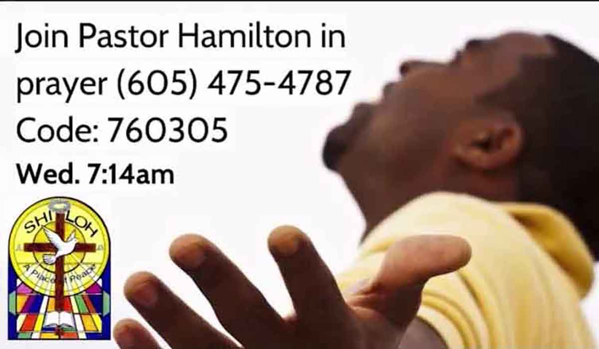 Wednesday Prayer with Pastor Hamilton